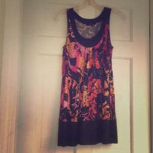 Colorful Night-out Dress